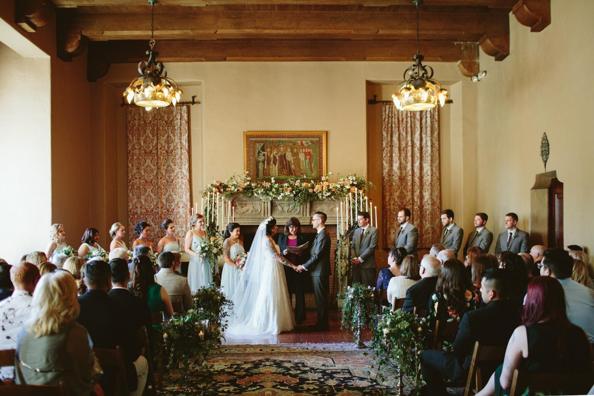 Drawing Room Wedding Berkeley City Club