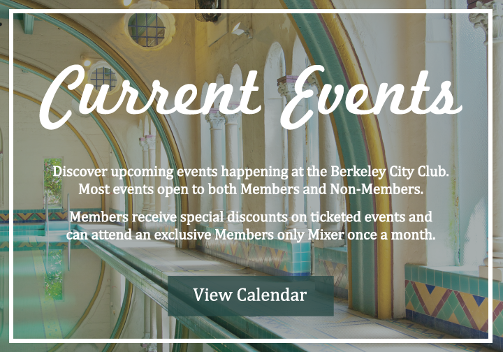 Berkeley City Club Member Events