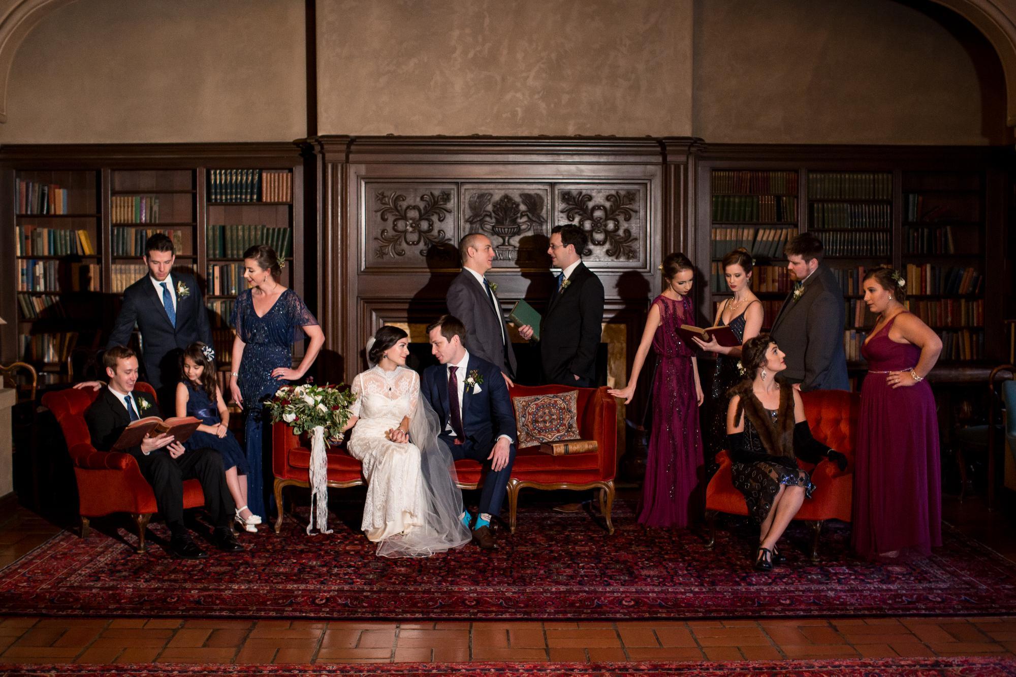 Member's Lounge Wedding Berkeley City Club