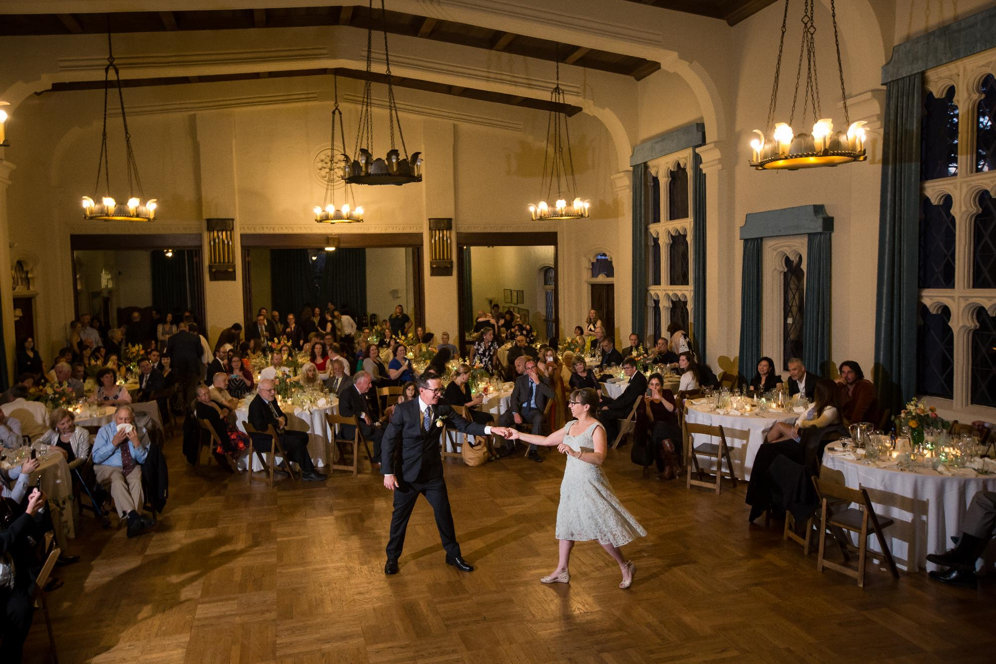 Ballroom Wedding Berkeley City Club