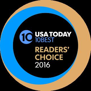 USA Today 10 Best Award